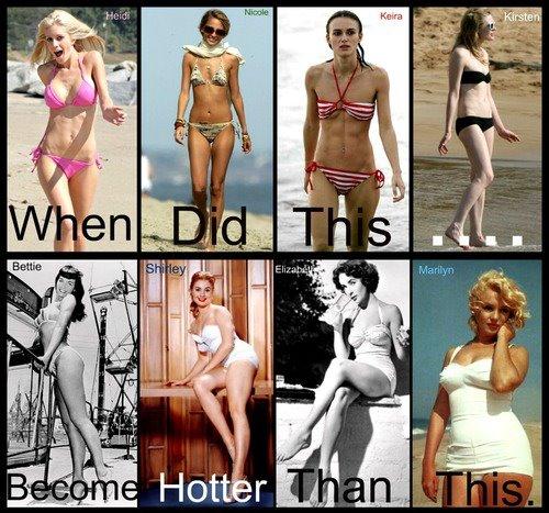 Skinny chicks are women, too (1/2)