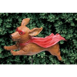 Super Wiener Garden Sculpture